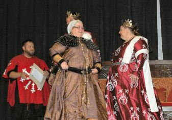 Baroness Rynea is elevated to the Order of the Pelican