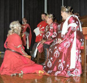 Ysabel receives an AoA