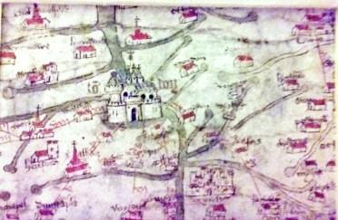 gough map poster closeup