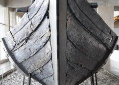 Viking age ship hull