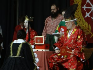 Lady Elena receives a Sycamore.