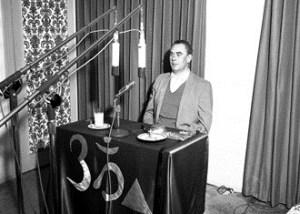 Dr. King in transmission room