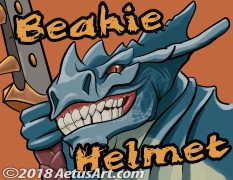 Beakie Helmet Badge