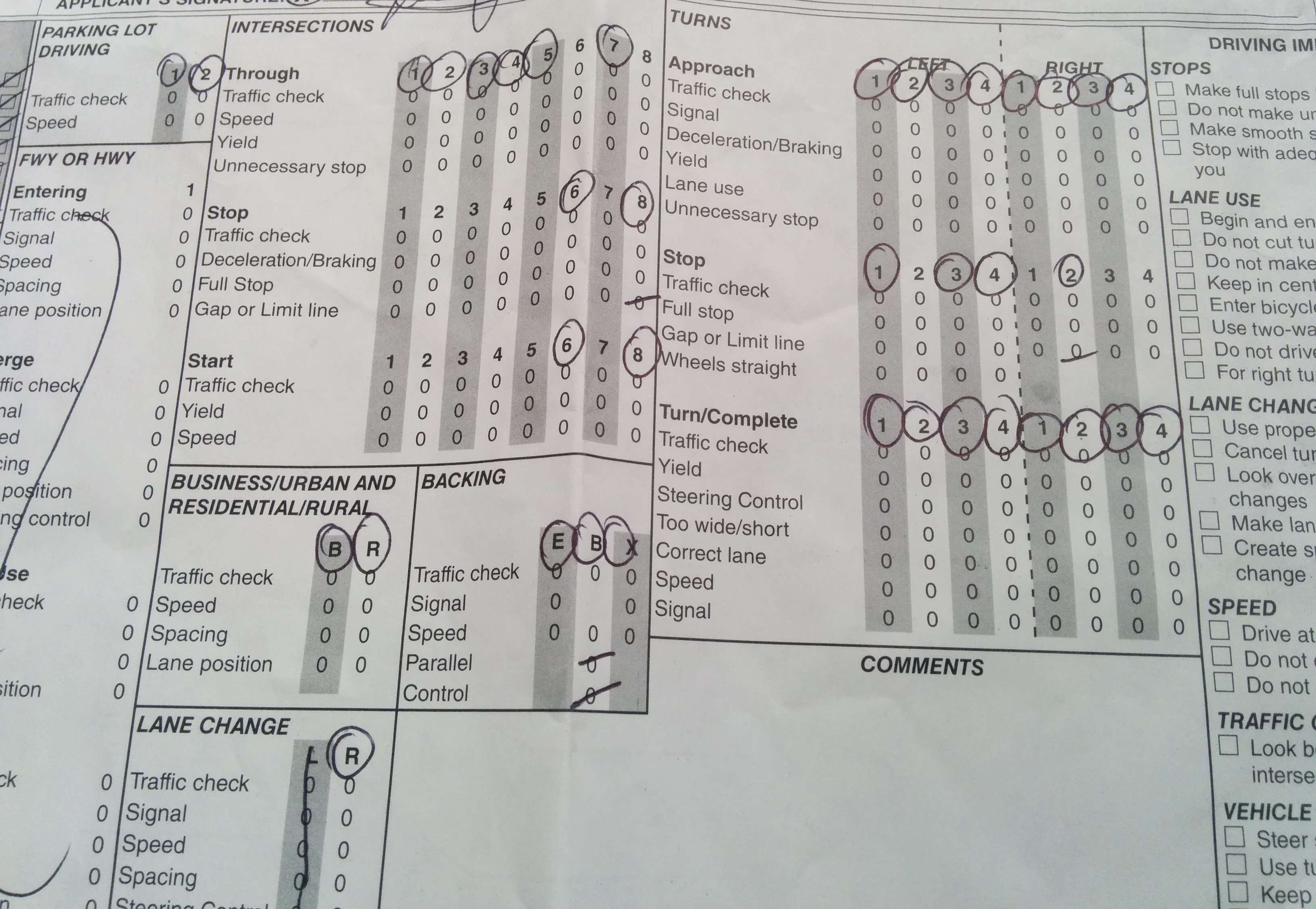 My Driving Test In The Us Part 2