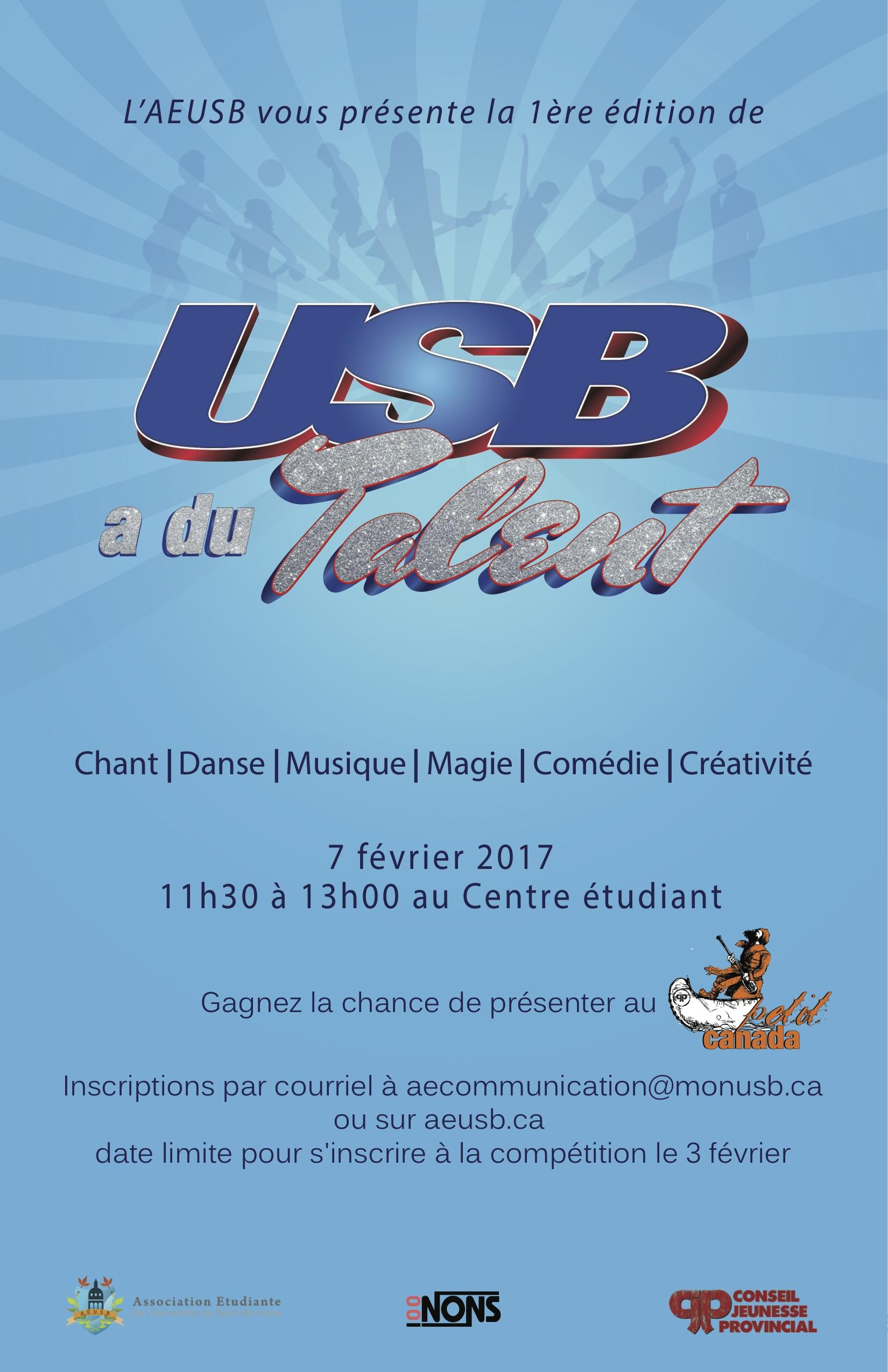 USB a du talent (11-17)