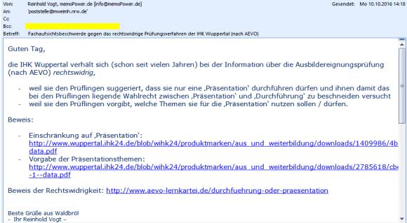ihk-wuppertal-email-fachaufsichtsbeschwerde