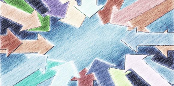 Viele Pfeile als Symbolbild: Mit welchen Schwerpunkten müssen Sie beim Fachgespräch innerhalb Ihrer AEVO-Prüfung rechnen?