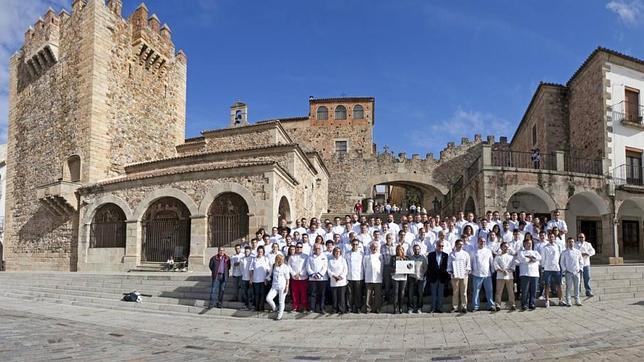 Cáceres Capital Española de la Gastronomía 2015