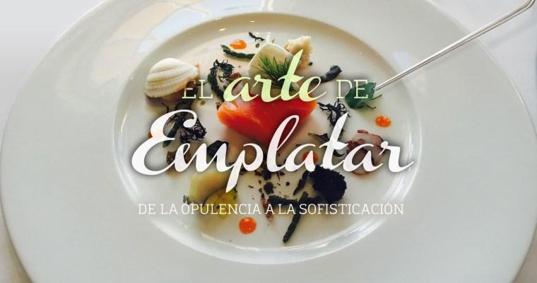 EL ARTE DE EMPLATAR