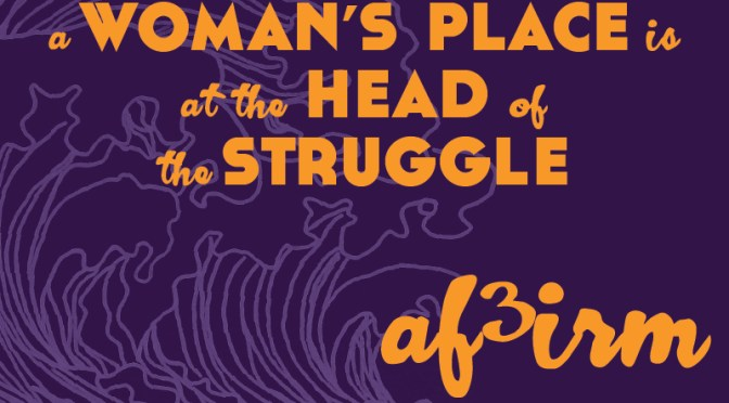 Purple Rose Day 2015: Women's Resistance Key to our Existence