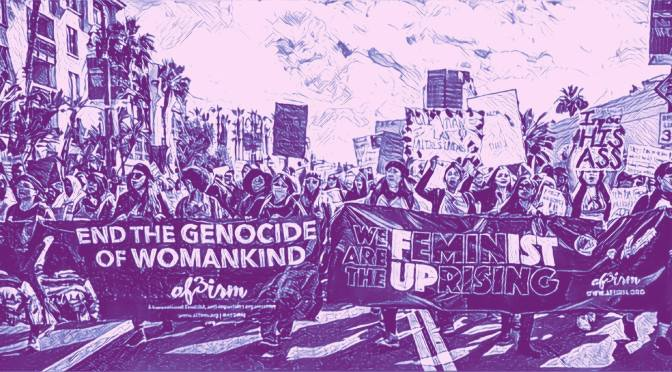 March for the Feminist Future in honor of International Women's Day in Downtown Los Angeles on March 3rd!