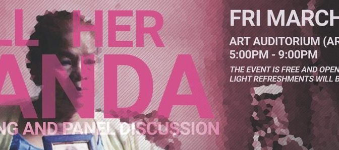 """'Call Her Ganda' Screening and Panel Discussion on """"Militarization, Sexual Violence and Sovereignty in the Pacific"""" on March 8th with AF3IRM Hawai'i"""