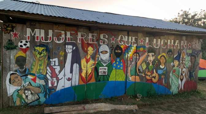 AF3IRM SUPPORTS ZAPATISTA CALL TO COMBAT VIOLENCE AGAINST WOMEN & ACKNOWLEDGES THE GLOBAL RESONANCE OF RULE #31