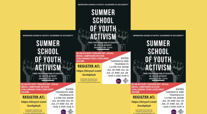 The 8th Annual Summer School of Youth Activism in Iowa, Regeneration: Cultivating Intergenerational Learning and Leadership, remote workshops now in session