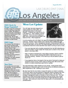 Newsletter - August 2016  copy1