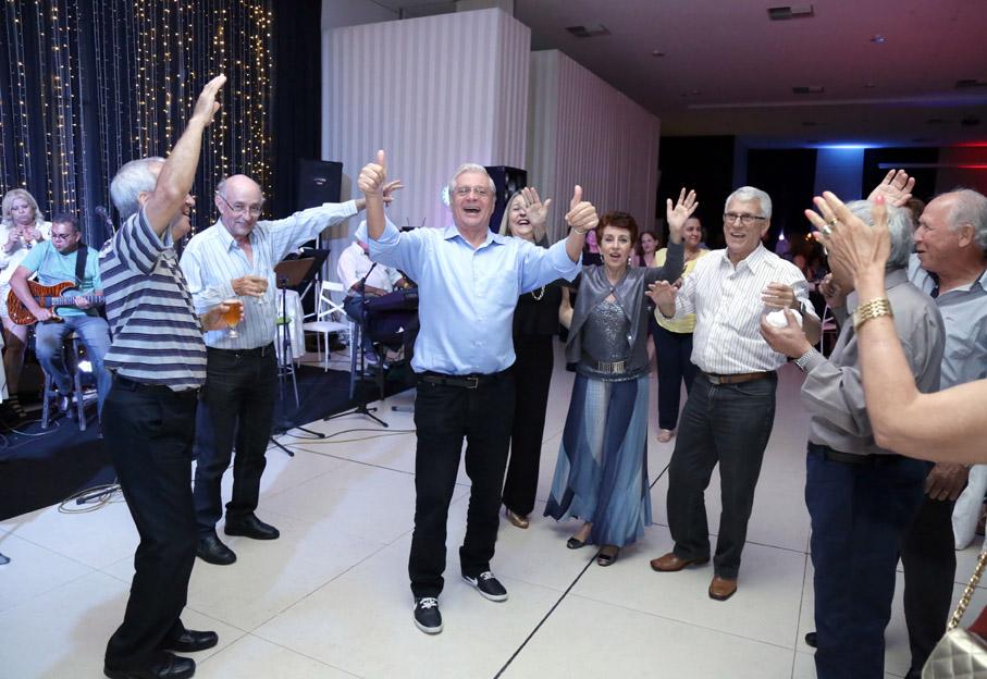 Associados comemoram na Confraternização 2016 da AFABB-ES