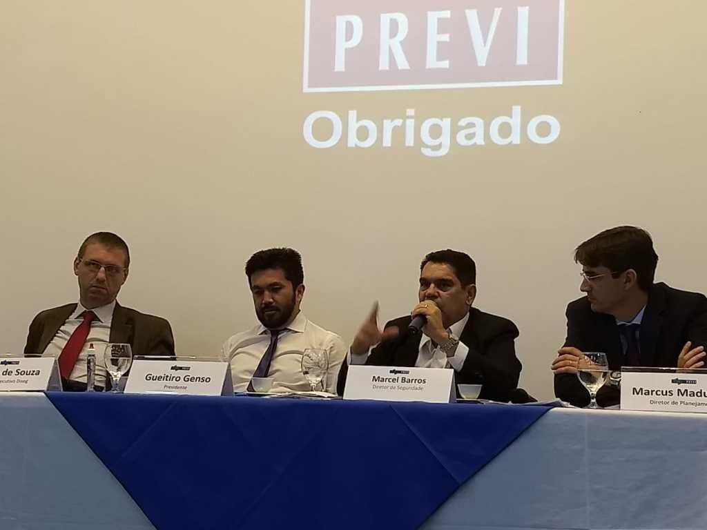 AFABB-ES participa de Encontro com Diretoria Executiva da PREVI
