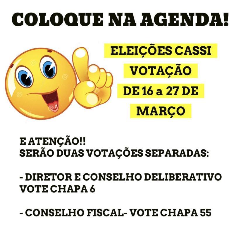 Eleições CASSI 2020