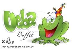 frog sapo festa bufet logo logomarca logotipo jlima