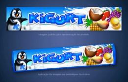 Embalagem sorvete Kigurt