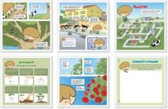 paginas livro calebe infantil crianca historia trecho desenho cartum