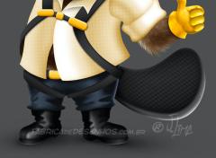 beaver castor mascot design character mascote personagem 3d desenho cartoon ilustracao capacete obra construtora arquitetura jlima 6