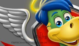 logo design mascot character personagem mascote danone dino danoninho jlima 3d desenho cartum cartoon asas simbolo ilustracao concept arte 1