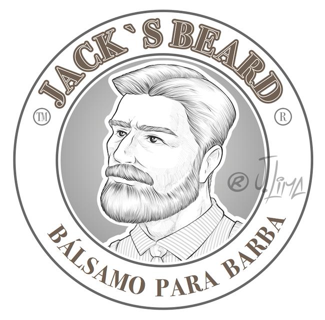 barbearia barba beard balsamo barbear homem man jack desenho ilustracao arte design character illustration jlima draw vetor vector perfil men jovem rosto face