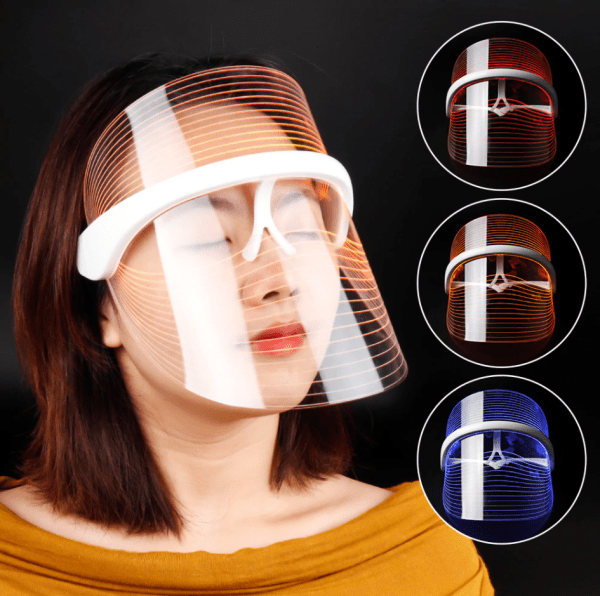 LED Light Therapy Shield Mask