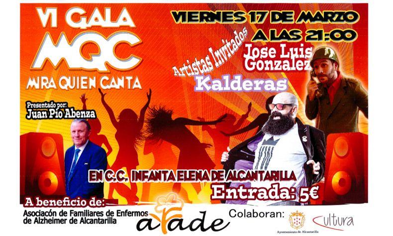 "VI Gala ""Mira quién canta"""