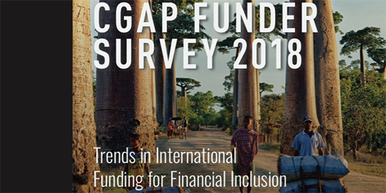 Global funders investing more to boost financial inclusion