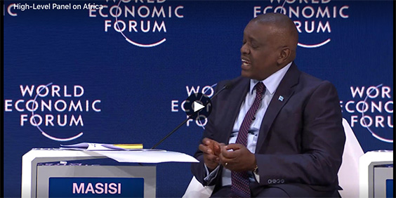 VIDEO: WEF High-Level Panel on Africa