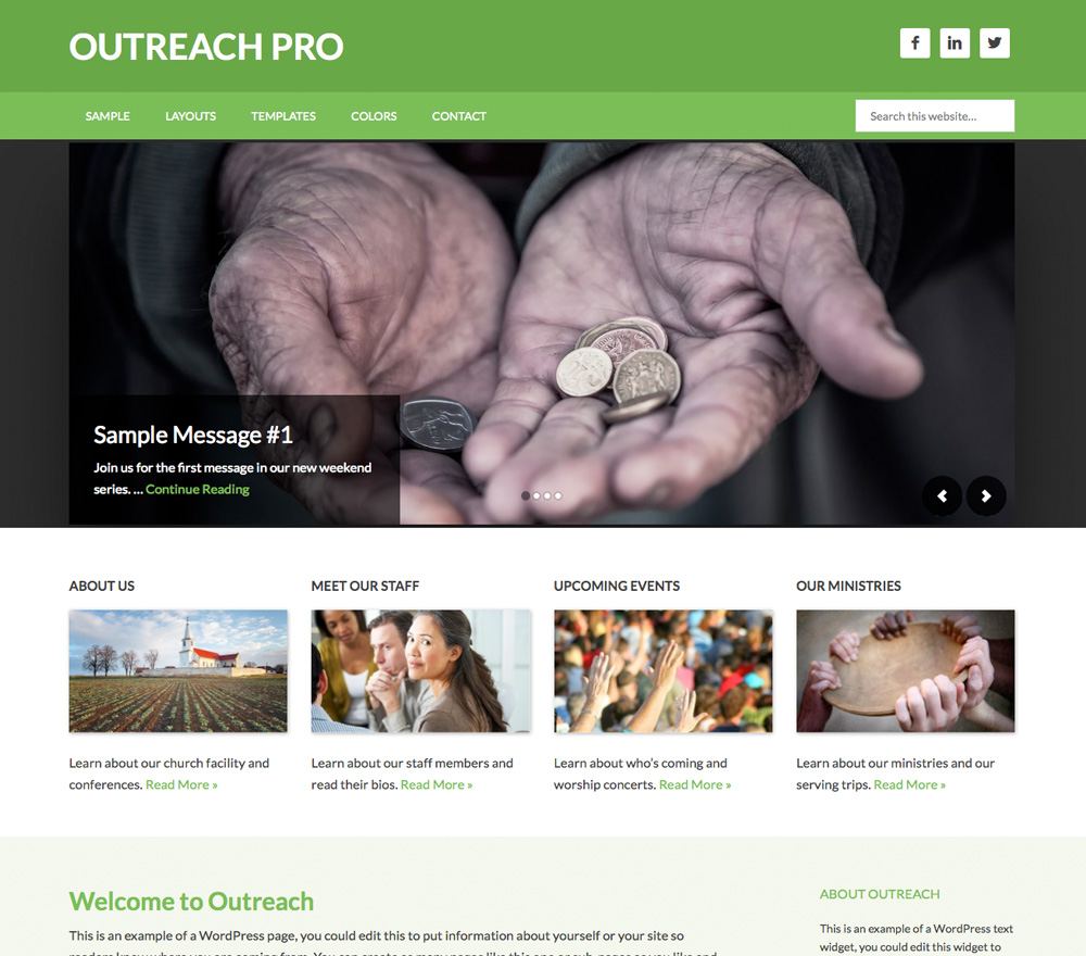 Outreach Pro Theme
