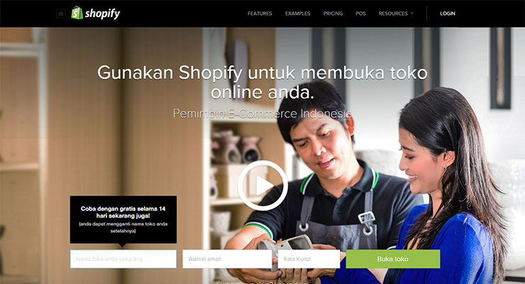 Shopify Software eCommerce