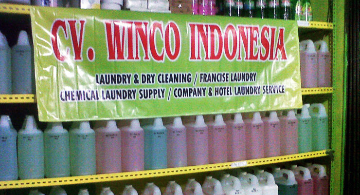 Jasa Laundry CV. Winco Indonesia