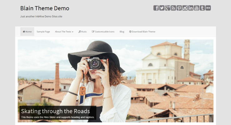 Blain WordPress Theme