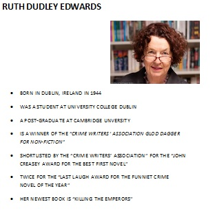 Ruth Dudley Edwards
