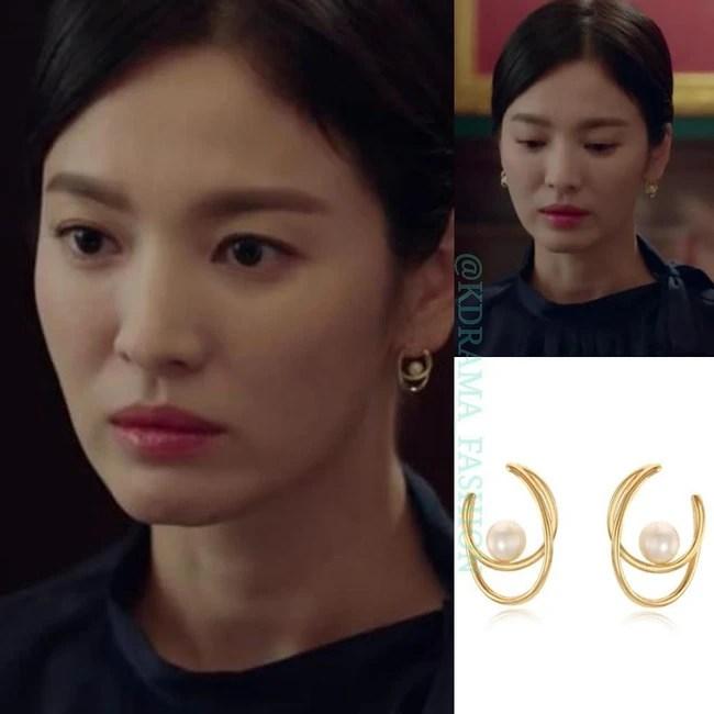 """Sở hữu BST khuyên tai tinh tế hết mực, chẳng trách Song Hye Kyo lúc nào cũng trang nhã và đẹp """"siêu thực"""" trong Encounter - Ảnh 9."""
