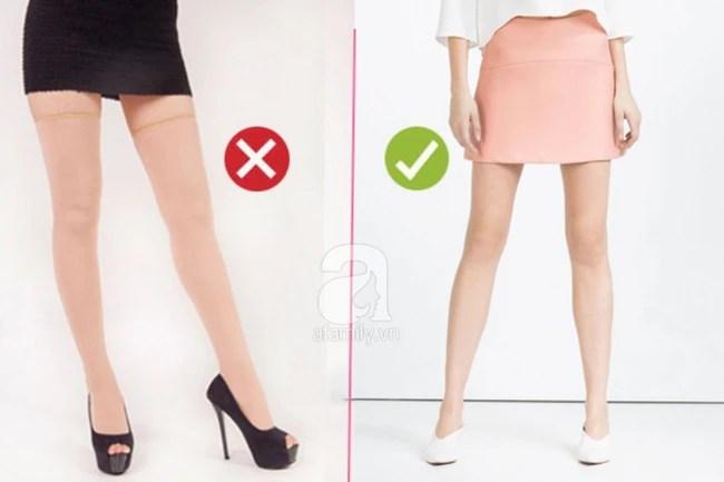 Quần tất da chân sẽ rất dễ biến bạn thành thảm họa thời trang nếu còn mặc theo cách này - Ảnh 5.