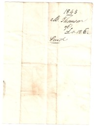 1843, Mr Thomson, £0/12/6, Paid