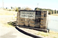 Entrance to Feilding Cemetery