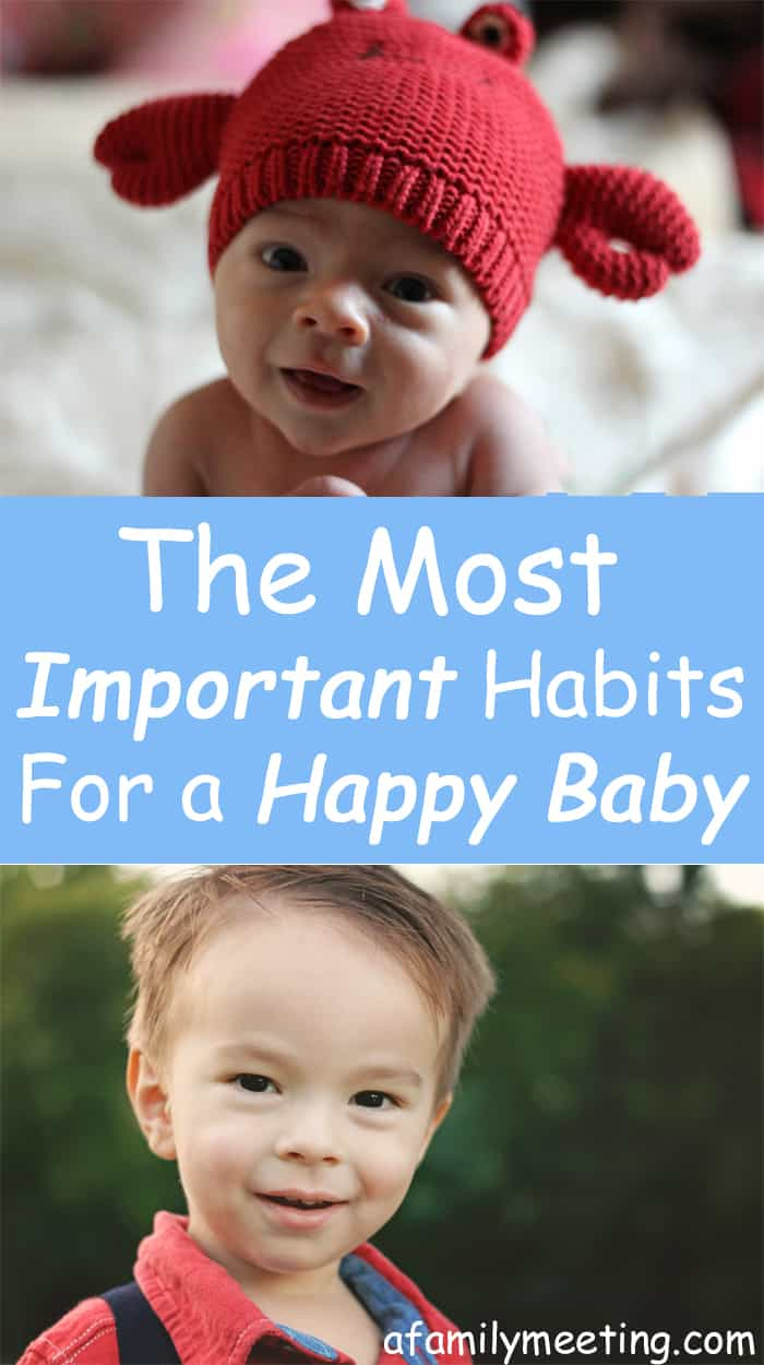 How to have a happy baby