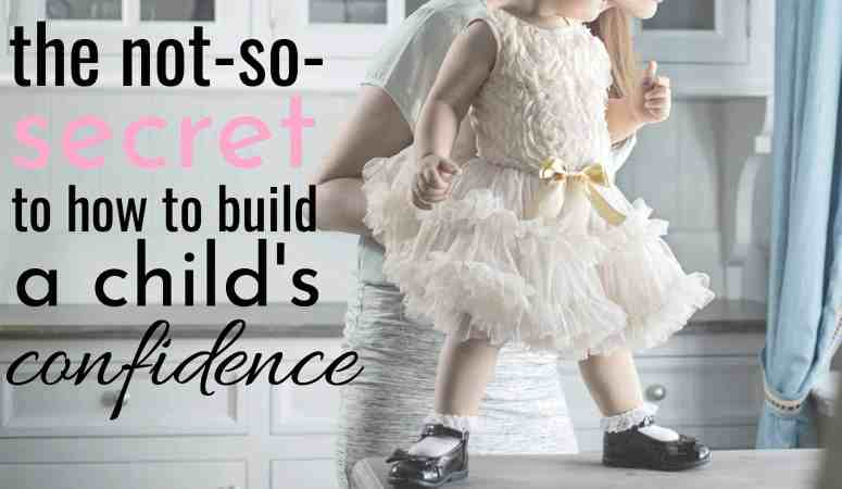How you're holding your kids back and why you should stop! Building Child Confidence.