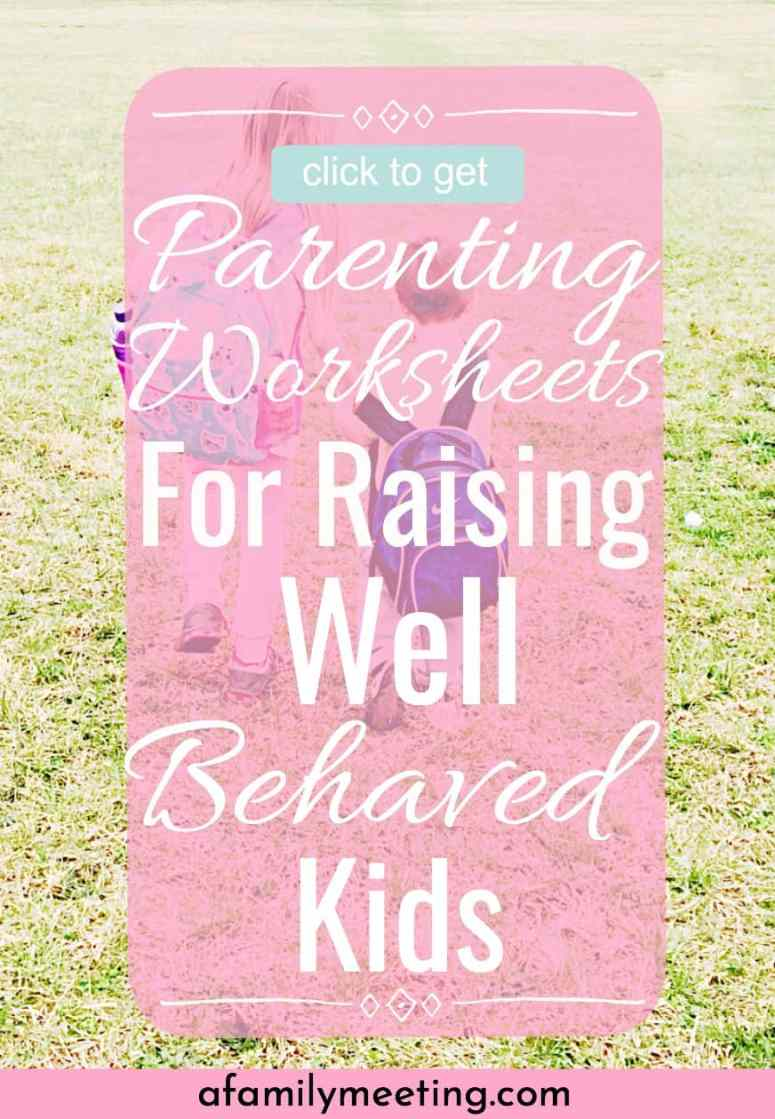 In my library you'll find parenting skills worksheets, parenting checklists, raising good kids free printables, meal planning/cleaning schedules, child training free printables, child training worksheets, biblical parenting tips, christian parenting devotional and more. My main free resources library is open to any intentional parenting Mom. I truly want you to have all you need to raise great kids. #goodparenting #raisinggreatkids #christianparenting #parentingprintables #parentingworksheets