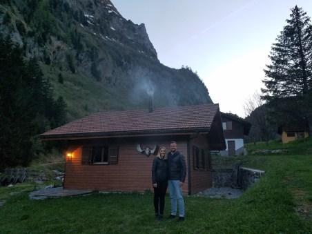 2000 ft up in chalet in swiss alsps