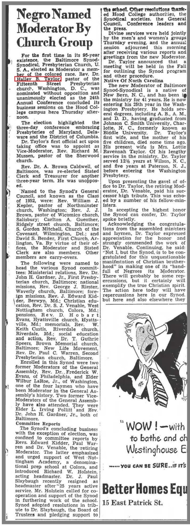 The_News_Frederick_MD_6_24_1949_HB_Taylor
