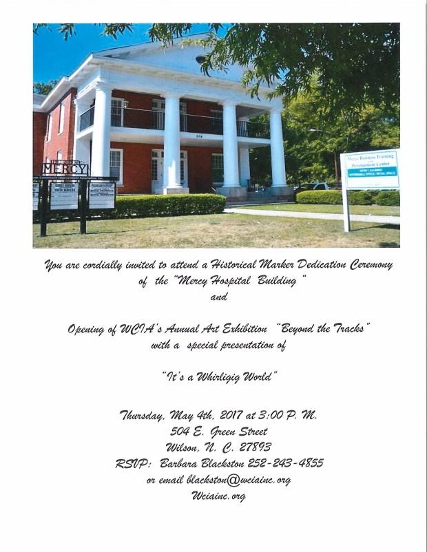 Dedication and ARt Exhibition invite (1)