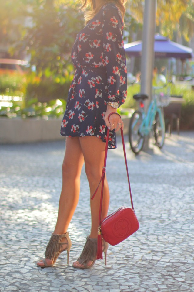 amanda tur, miami fashion blogger, fashionista, spring fashion, spring trend, a fancy affair blog, blogger, miami, trending, spring trends, top trends, florals, steve madden fringe, how to wear fringe shoes, gucci red bag, gucci red disco bag