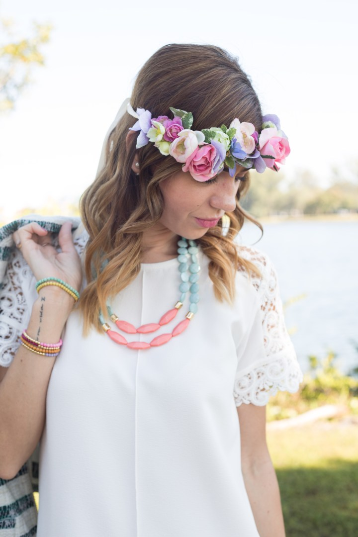 amanda tur miami fashion bloggers kristin clark spring 2015 garden party with flower crowns