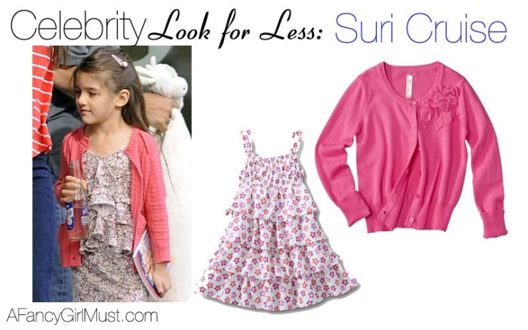 Suri Cruise Look for Less | AFancyGirlMust.com